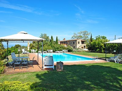 Photo for 2 bedroom Villa, sleeps 4 in Camporbiano with Pool and WiFi