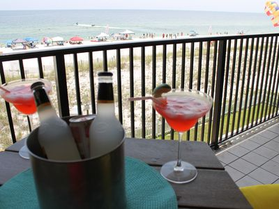 Photo for 3rd floor, Beautiful Beach View from Balcony, perfect beach getaway!