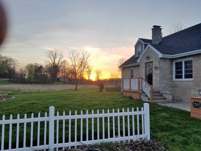 Photo for 2500 sq ft home on 15 acres in middle of Wine Country!