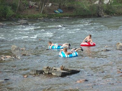 Have fun in the river right in your backyard!