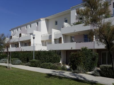 Photo for Apartment with swimming pool in Camargue, between Montpellier and Marseille