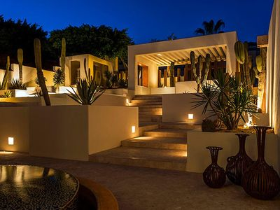 Photo for The Only Luxury 8 Bedroom Beachfront Villa in Pedregal