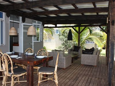 Photo for 4 people Mini Villa Mauritius Pereybere 30m from the sea WIFI Parking