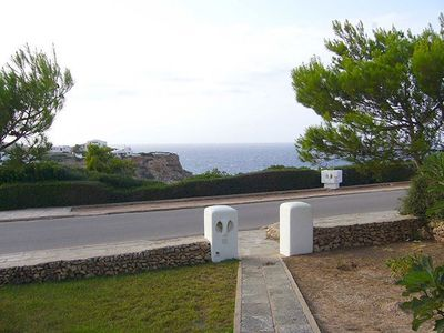 Photo for Ground floor apartment in Cala Morell. Ideal for lovers of peace