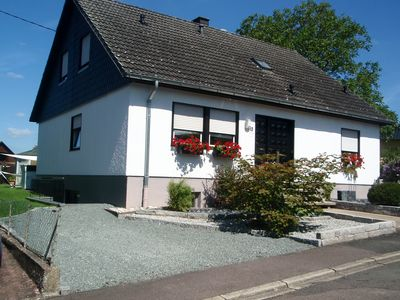 Photo for Modern 80 sqm apartment near Saarburg in a quiet location,