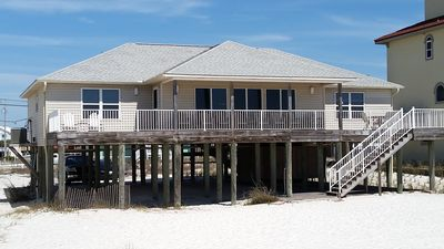 Photo for Dawson Beach House * Recently Remodeled * Right on the Gulf of Mexico