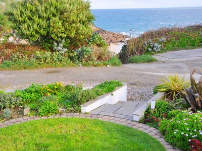 Photo for Fabulous 3 Bed Cottage With Private Parking And Garden Overlooking The Beach