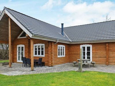 Photo for Gorgeous Holiday Home in Vinderup Jutland with Whirlpool