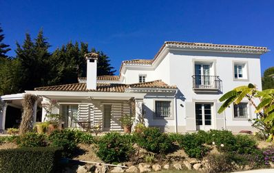 Photo for Stunning luxury villa - large pool, very private gardens & 4 gorgeous bedrooms!