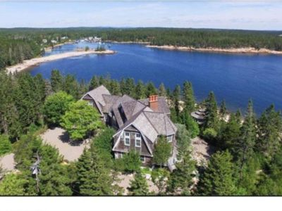 Photo for New Listing - Spacious, waterfront, ocean views, near Schoodic Point/Acadia Park