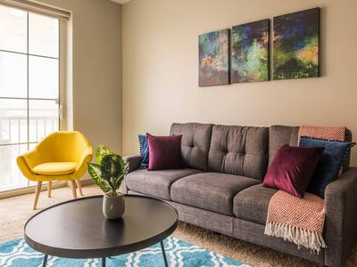 Photo for Convenient + Entertainment | 1br Next to Commons