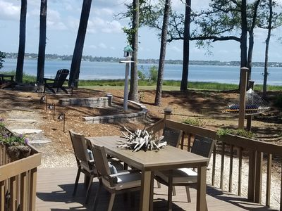 Photo for Private Home set in Maritime Forest with Wonderful Water Views