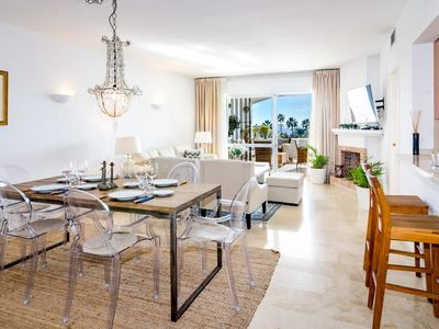 Photo for Elegant Apartment with Sea views-MA - Apartment for 4 people in Nueva andalucia
