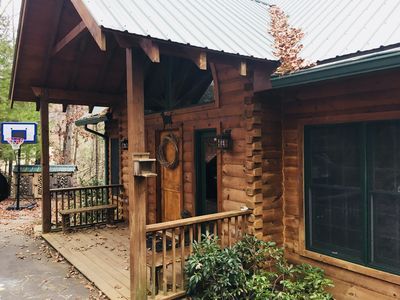Photo for Beautiful, Spacious, Luxury Log Home - 5 BR & Perfect for Multiple Families