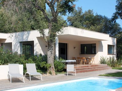 Photo for Vacation home L'Eucalyptus (GRI190) in Grimaud - 8 persons, 4 bedrooms