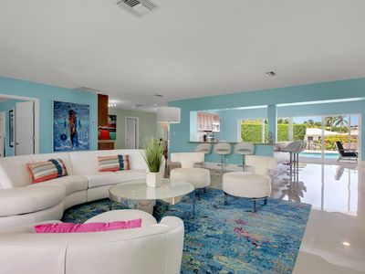 Photo for Modern Luxury Delray Beach Waterfront Pool Home
