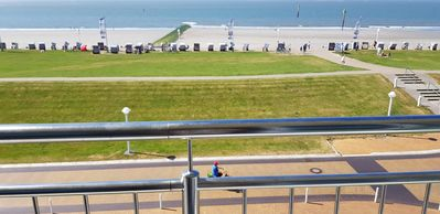 Photo for One room apartment Kaiserhof 32 Norderney with sea view and pool