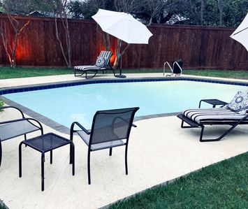 Photo for Private pool! Disinfected home. Easy cancellation policy.