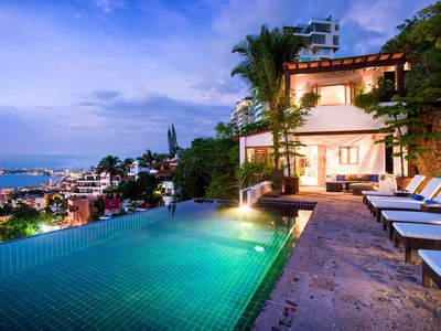 Photo for UPSCALE HILLSIDE VILLA