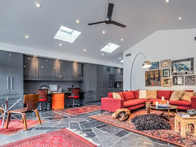 Living Room - Welcome to your home in Sonoma! The open layout offers a great flow for entertaining a small group.