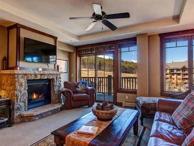 Photo for Ski-In/Out Roll onto the Lifts - Amazing Crystal Peak Condo w/ Views + Amenities