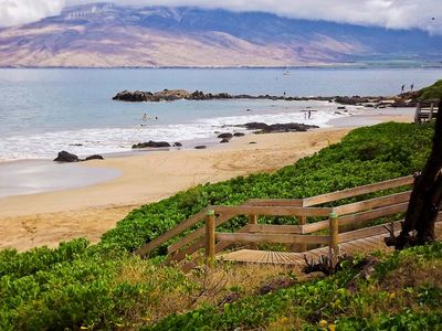 Photo for #138 Ground floor condo easy access to best beach on Maui.