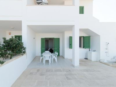 Photo for Vacation home Broom Apartment  in Marina di Pescoluse, Puglia - Salento - 5 persons, 2 bedrooms