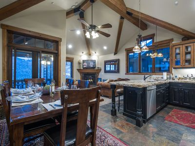 Photo for Luxury 2 Family Ski Home- Minutes from the lift - By PADZU