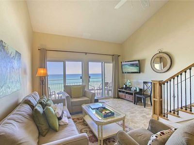 Photo for Crystal Sands 305B - Gulf Front! Free Beach Service! Community Pool! Book Today!