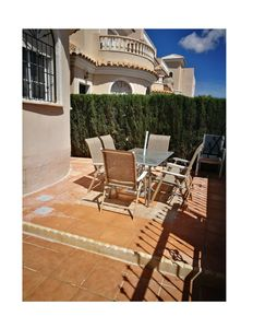 Photo for La Marina Costa Blanca, 3 bed villa sleeps 8 with communal pool.7 seat car avail