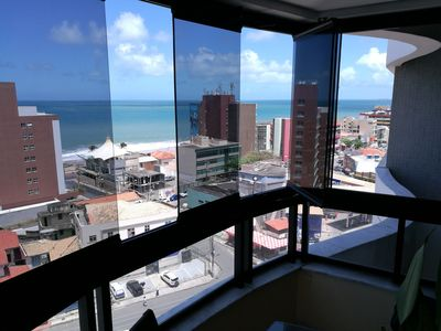 Photo for beautiful sea view a stone's throw from the historic center of Salvador Bahia