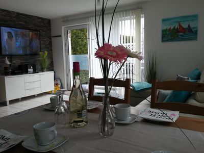 Photo for 4 * FH with garden, playground, sauna, fitness, 2 bedrooms, kitchen with dishwasher