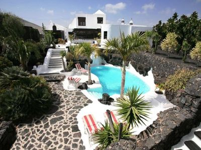 Photo for House in Tahiche with Internet, Pool, Garden, Balcony (970277)