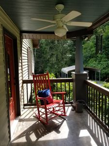 Photo for Beautiful Home With Creek In Large Backyard, Easy Walk To downtown & parks