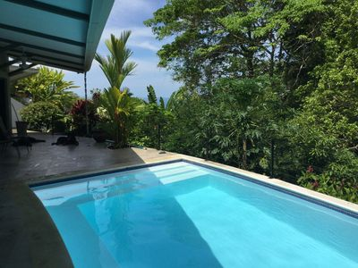Photo for Modern Villa Rainforest and Pacific Ocean View