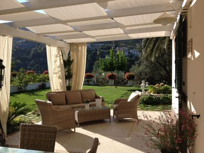 Photo for The residenza 2-Villa in Ravello in a central position with parking space and garden.