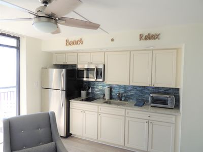 Photo for Newest FULLY RENOVATED LUXURY Beach Cove Unit. Be the first to stay!!!!!