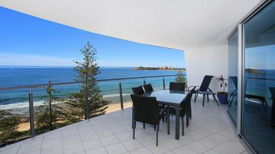 Photo for Sirocco 906 - Two Bedroom Unit located at the front of Mooloolaba Esplanade