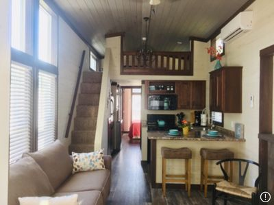Spacious, Fully Equipped Kitchen, Washer and Dryer, Fun Sleeping Loft Kids Love.