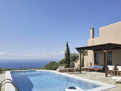 Photo for Dancing Pool - Stylish residence with private pool and stunning sea view