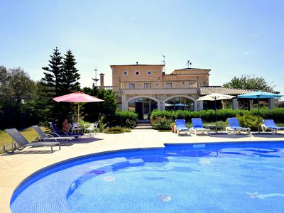 Photo for Luxurious property in best area with enorme pool & fitness room up to 16 people