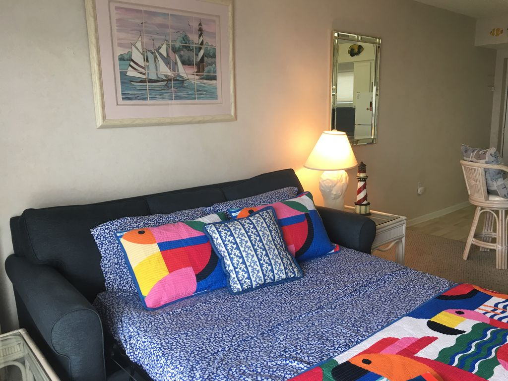OCNJ WATERFRONT CONDO WITH POOL, PARKING, & MAJOR VIEWS