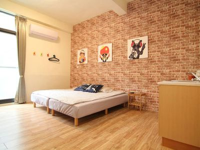 Photo for Double room 30sec to MRT station, Ruifang Night Market, Love River 2A