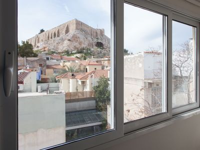 Photo for Stylish 1 bdrm Apartment in Plaka with Acropolis view