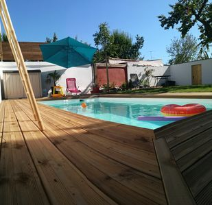 Photo for Very nice villa -piscine-Montpellier- any comfort close to the historic center
