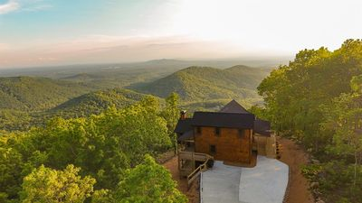 Photo for Above The Clouds is a fully customized cabin perfect for any vacation getaway. Non pet-friendly