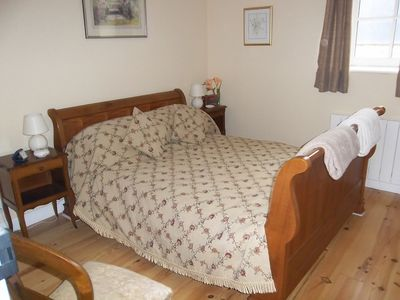 Double room with sleigh bed