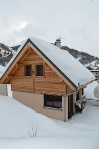 Photo for New, modern chalet in Valloire, in the French Alps, 8 persons
