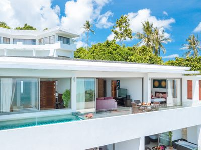 Photo for 2 bedroom sea view Penthouse with private pool