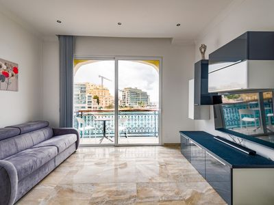 Photo for SPACIOUS 2BR FLAT WITH LOVELY SEA VIEWS ON SPINOLA BAY - SAINT JULIAN'S